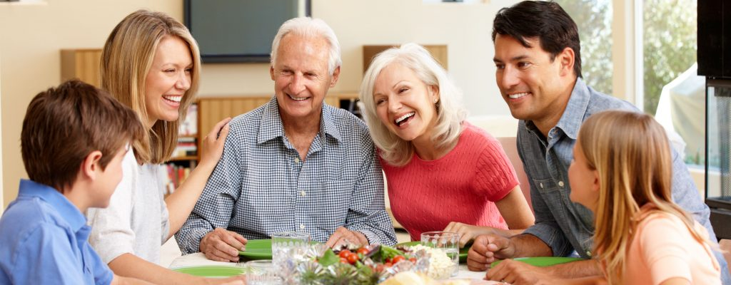 Over 55s enjoy time with their family after planning their later life properly